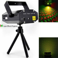 Portable multi LED bulb All strat music Laser Stage Lighting Adjustment DJ Party Wedding Club Projector