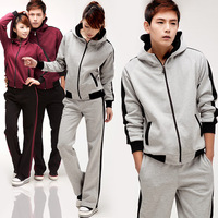 2012 lovers design sports set cotton casual sweatshirt sportswear trousers