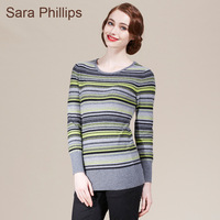 Saraphillips women's stripe cashmere sweater cashmere