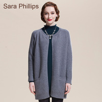 Saraphillips women's cashmere sweater cashmere overcoat