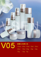 Cosmetics bottles glass cosmetic bottles tosses emulsion sub-bottling glass bottle sub-bottling glass