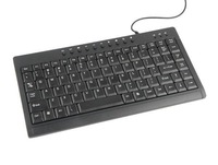 Ultra-slim Mini Multimedia  keyboard with 87 Keys/ 10 Multimedia Keys for Laptop PC shipping free