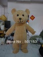 fluffy bear mascot costumes bear costumes brown bear walking act teddy mascot costume