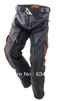 Free shipping 2014 NEW KTM cross-country trousers black M L XL