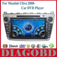 Android GPS Mazda6 Ultra mazda 6 Uitra 2008 2009 2010 2011 2012 2013 Car DVD Player 3G GPS RDS radio bluetooth WIFI