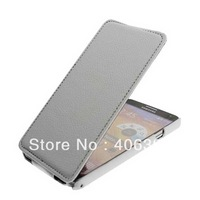 Short Buckle Flip Down Stereotype Litchi Grain Leather Case for Samsung Galaxy Note 3 N9000