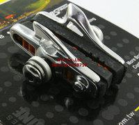 2 Pairs Road Bike Brake Pads / V Brake Shoes / BARADINE ABS 01RC Bicycle Brake Pads