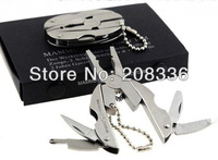 HOT Muti tool Free Shipping 5pcs OEM MAMMUT Folding Small Pliers Multifunctional Tool with Wing Mini Keychain Tool Gift