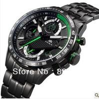 New Brand Duca outside sport  men quartz stainless steel watch luminous wristwatch submersible  fashion waterproof freeshipping