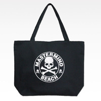 Mastermind japan skull pattern canvas tote bag shoulder bag handbag mmj