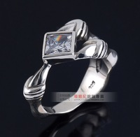 New 2013 Silver thai silver men jewelry sets ring personalized fashion 925 sterling silver 925 alondra ring 2013 free shipping