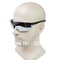 Free Shipping Men's Fashion Sunglasses Outdoor Cycling Wind-proof Eyewear Glasses Square Frame Lens Eyeglasses Frog Mirror 8052
