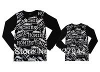 Free Shipping Cheap Brand homies men's long shirts new design poloshirt 100% cotton Size:S-XXL