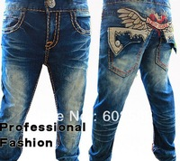 High Quality Kids jeans autumn children's clothing child jeans male child trousers pants  jeans m2