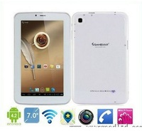 "Latest Sanei G605 6.5"" Built in 3G Phone Call Tablet PC Qualcomm MSM8225 Dual Core Android 4.1 GPS Bluetooth Dual Camera"
