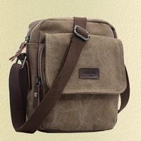 Free Shipping 2013 brief man bag bag casual bag shoulder bag canvas bag male messenger bag