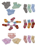 New Arrival Cute 3 Pairs Lovely Kids Toddler Infant Baby Cotton Winter Warm Soft Socks Coloured Hot