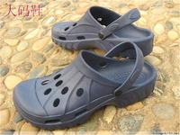 Male plus size hole shoes 47 48 49 50 Men plus size sandals mules