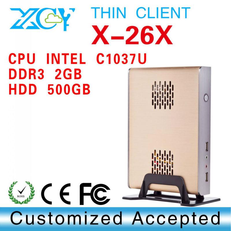 1 pcs Big Promotion!!! XCY X-26X htpc computer case, computer case mini itx, towers desktop computer case(China (Mainland))