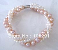 No,8 fashion natural freshwater pearl bracelet