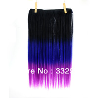 New hair T1B/27/613# tone 3 color three beauty  wholesale Colorful synthetic hair extension
