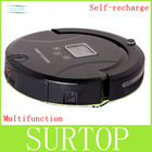 M620 black Robot vacuum cleaner,long working time,never touch charge base and sonic wall,low noise,vacuum cleaner for home(China (Mainland))