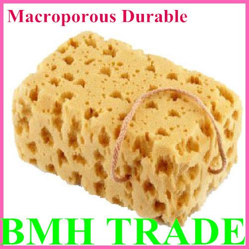Supper Hot Big Thick Nature Coral Sponge Car Wash Macroporous Durable Not Hurt Car Sureface Cleaning Washing Dropshipping(China (Mainland))