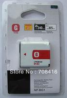 10pcs,NP-BG1 NP-FG1 NPBG1 BG1 replacement digital camera rechargeable battery for sony DSC-H20 DSC-T100,960mAh,free shipping