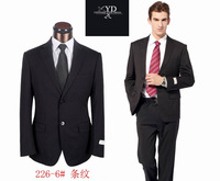 Free Shipping 2013 New Designer Fashion Me suits Custom Made  High Quality  Wool Slim Fit Formal Business Suit Jacket +Pants