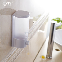 Wall-mounted manual soap dispenser soap bottle hand sanitizer box shampoo bottle