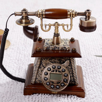 Quality fashion antique old fashioned classical telephone household vintage fashion technology telephone caller id