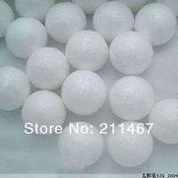 Free shipping 8cm white styrofoam round balls Craft ball foam ball diy handmade painted ball 20pcs/lot