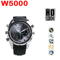 50% shipping fee 10 pieces Free shipping 16GB watch Camera 1280p MINI DV DVR water proof watch camera