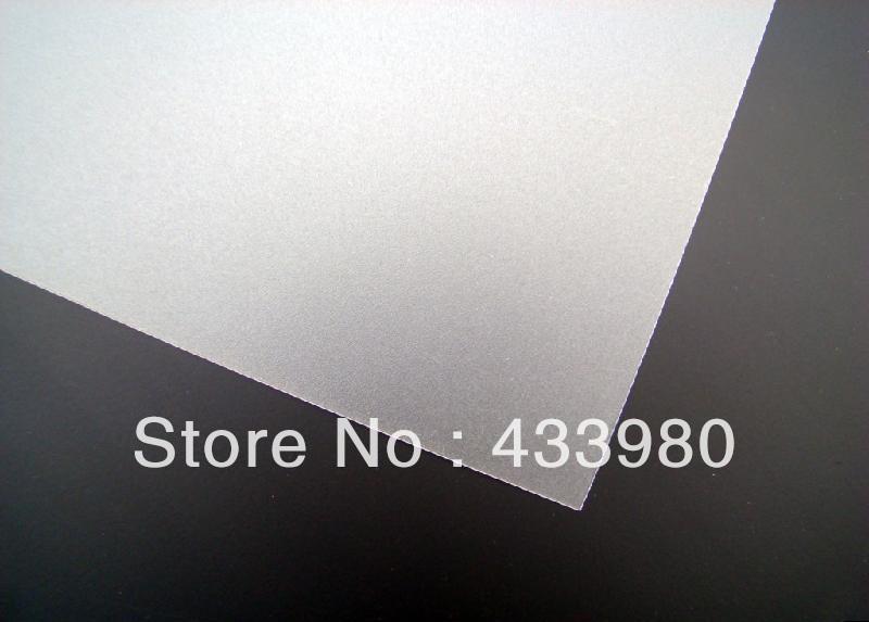 Пластмасса 500mm x 500mm x 2.0mm Polystyrene Light Diffusing Sheets, Transluscent White, Light Transmittance 84