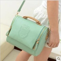 Free shipping 2013 women's handbag  print shoulder bag cross body bag