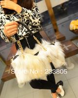 Women cheap fashion handbags designers fur tassle bagschannel Women bags leather handbag large shoulder bags wholesale