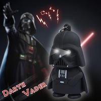 Classic Star Toys Darth Vader 3D LED Keychain With Sound  Mobile Phone Accessories star War Freeshipping as a gift