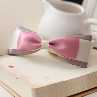 Free shipping Diy handmade bow hair accessory, handmade, size and color can be customized.