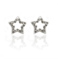 Free shipping free shipping 2013 new Accessories  five-pointed star no pierced u clip stud earring female earrings