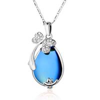 Free shipping Suki necklace female vintage fashion austria rhinestone short design glass crystal chain