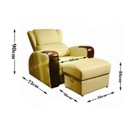 2014 Hot sale Pedicure sofa with washing basin and table MH-MS14