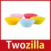 [Twozilla] Muffin Cup Chocolate Bakeware Kitchen Food DIY Cupcake Baking Cake Cutter Mold Hot
