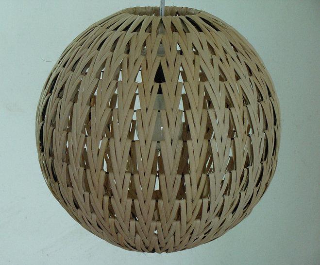Eco-friendly beige rattan pendant light ball lamps md1008(China (Mainland))