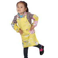 Original child apron waterproof canvas adjustable spaghetti strap 1m-1 . 4m painting clothes