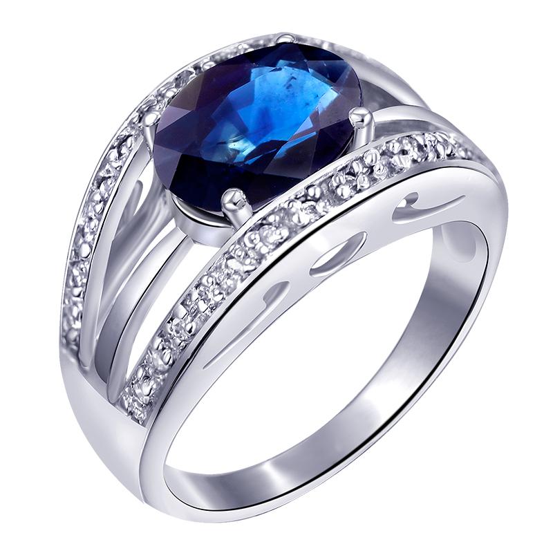 Blue Sapphire Ring For Men Price SR0203S blue sapphire ring