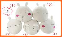 Foreign Trade Original+Free shipping Lovely 45cm Tuzki Cushion,5 designs Ultra Soft Short Plush Cute Pillow