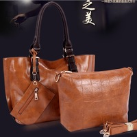 2013 fashion handbags designer Inspired women Genuine leather handbag Crocodile Grain  handbags  women messenger bags