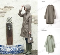 new 2013 Ultra-light wpc style fashion raincoat poncho bubble trench