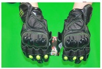 M1 Motorcycle Leather gloves Motorbike Motocross gloves Riding Racing Gloves Black glove M/L/XL