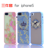 Free Shipping 86 Hero Ero Travel Series flower crown little horse Hard Case Back Cover For Apple iPhone 5S 5G
